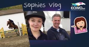 Sophies Vlog zeigt den Springreitkurs mit Rob Raskin