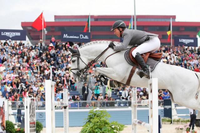 Ludger Beerbaum is one of the riders at LGCT Shanghai. © LGCT / Stefano Grasso