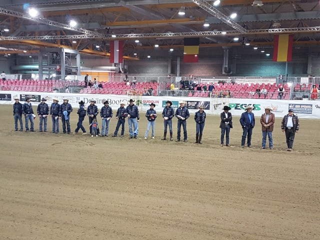 The NRHA European Open Futurity Finals – Section 1 starts at 2.00 pm. © EQWO.net / CM