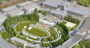 So soll der Sommergarten in Berlin während der Austragung der Longines Global Champions Tour und Global Champions League im Juli 2017 aussehen. Google Maps/GeoBasis-DE/BKG, KS IT & Mediaservice