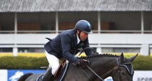 Luis Goncalves gewinnt Qualifikations Grand Prix des 2* Turniers in Ebelsberg (OÖ). © Sibil Slejko
