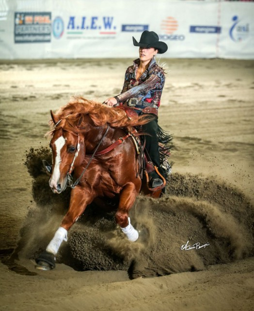 Salone del Cavallo Americano offers high quality sport. © Andrea Bonaga