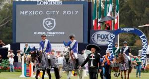 Team Valkenswaard United holte den Sieg bei der ersten Global Champions League Etappe in Mexico City. © Stefano Grasso / GCL