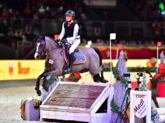 Im Dezember 2016 ging Calvin Böckmann mit der flinken Ponystute Camissa Nera bei der Mevisto Amadeus Horse Indoors an den Start. © im press ions Daniel Kaiser
