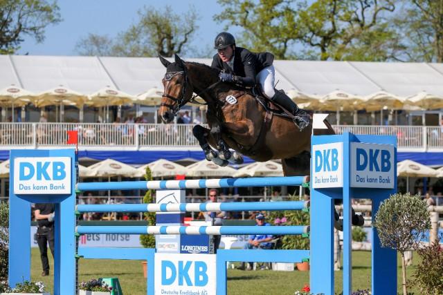 Max Hilmar Borchert mit Caspino. © Sportfotos-Lafrentz