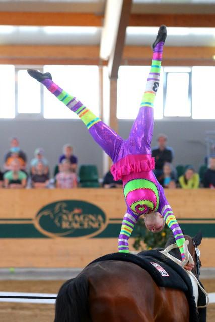 Platz zwei in der Zwischenwertung für Daria Gallo (SUI) mit 7,622. © Andrea Fuchshumer