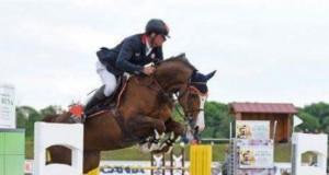 Fixkraft Reiter Matthias Raisch und Lacrima siegten im Finale der 6-jährigen Springpferde. © Privat