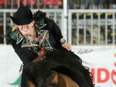 Championesse der Non Pro Level 4 in Cremona - Gina Schumacher und Gotta Nifty Gun. © Andrea Bonaga