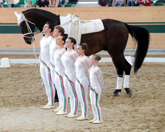 Platz drei im CVI3* Gruppenbewerb belegt derzeit Italien mit 7,146. © Andrea Fuchshumer