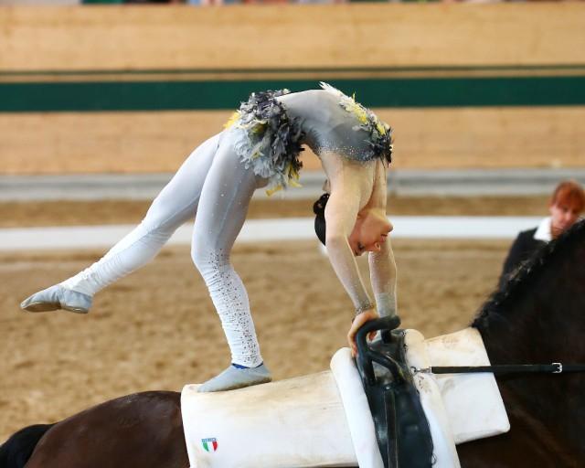 Platz drei für Italiens Silvia Stopazzini (7,579). © Andrea Fuchshumer