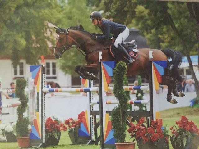 Toller Erfolg für Katha Werndl und Pezi Baer auf der Pferd International in München. © Privat