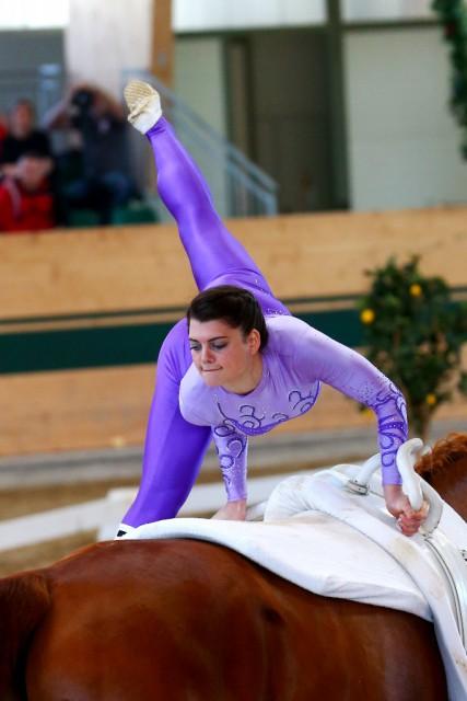 Beste Österreicherin im CVI3* Bewerb der Damen wurde Lisa Wild auf Rang vier (7,532). © Andrea Fuchshumer