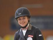 Die 16-jährige Helene Grabenwöger darf mit Avellino zur Pony EM nach Kaposvár fahren. © Fotoagentur Dill