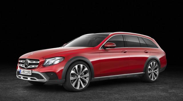 Genau so ein Mercedes-Benz E-Klasse All-Terrain wird den glücklichen Gewinnern in Aachen zur Verfügung stehen. © Mercedes-Benz