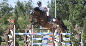 The seven-year-old Jarnak x Mouguet mare stayed fault-free in Cattolica under rider Alessia Rossi. © Private