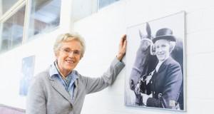 Madeleine Winter-Schulze wurde 1959 in Berlin Deutsche Meisterin in der Dressur. © Thomas Hellmann