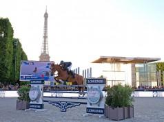 Mit einem neunjährigen Pferd, das heute die erste 5-Sterne-Prüfung absolviert hat, muss Julien Epaillard erstmal jemand nachmachen. © GCT / Stefano Grasso