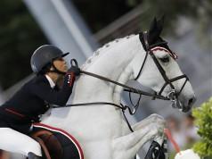 Georgina Bloomberg und Manodie II zeigten eine tolle Runde. © Stefano Grasso/LGCT