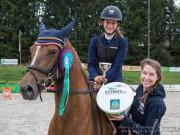 Mit Lilly Vanilly ritt die junge Burgenländerin Ludovica Goess-Saurau zum Sieg im EQWO.net Pony Grand Prix von Farrach. © scanpictures / Schnitzlhuber
