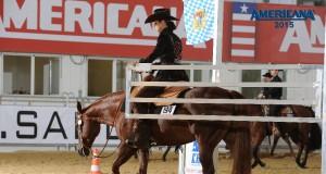 Angela Koser und Peppa Bar Delmaso bei der Americana © Americana