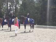 In der Allgemeinen Klasse siegte Andrea Huber vor Carina Madlmayr und Marie-Theres Holzleitner (v.links). © Privat