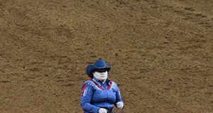 Mandy McCutcheon and Hollywod Dun It won their seventh Derby. © NRHA