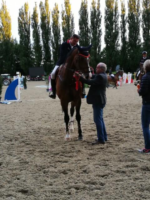 Sieg für Matthias Raisch und Chacial über 1,40 m, Rang zwei über 1,35m. © Privat