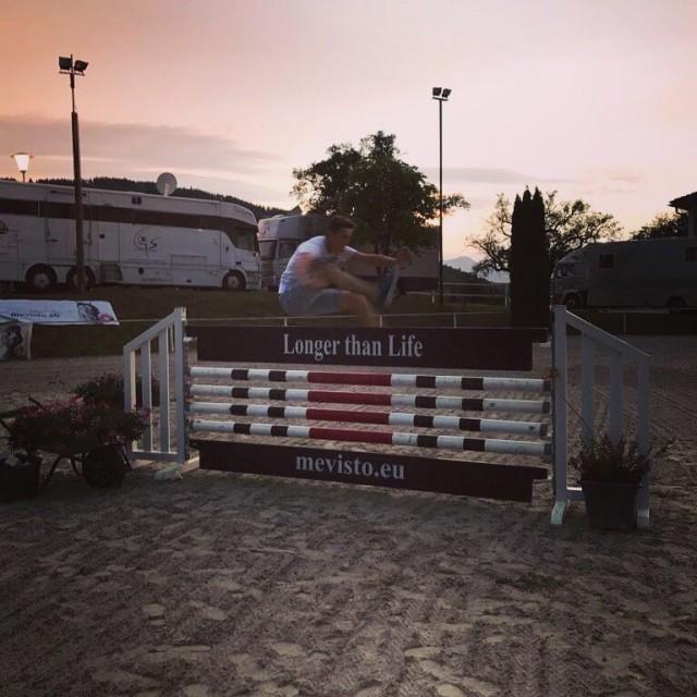 Wer schafft es ohne Pferd am höchsten? Mevisto Equestrian Excellence