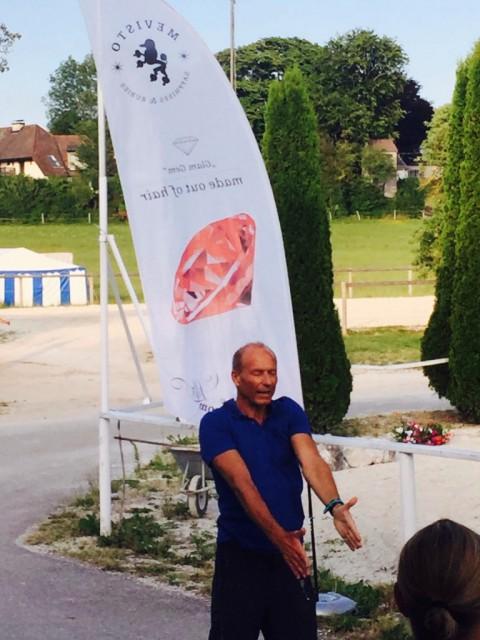 Dr. Thomas Wörz sorgte mit praktischen Übungen für viel Abwechslung im Programm. © Mevisto Equestrian Excellence