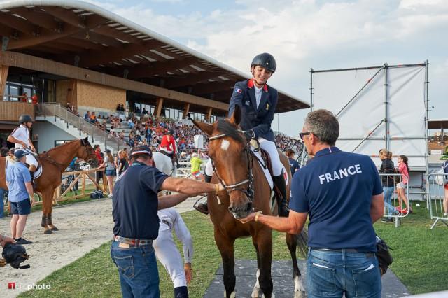 Die französischen Reiter freuen sich über tolle Leistungen bei der Euro in Samorin. © 1clicphoto - Hervé Bonnaud