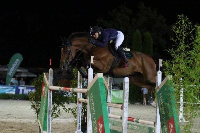 Im Hauptbewerb am Samstag siegte die amtierende österreichische Staatsmeisterin Catrin Glötzer-Thaler auf ihrem Meisterschaftspferd Hocus Pocus 6. © Brunnmayr Fotografie