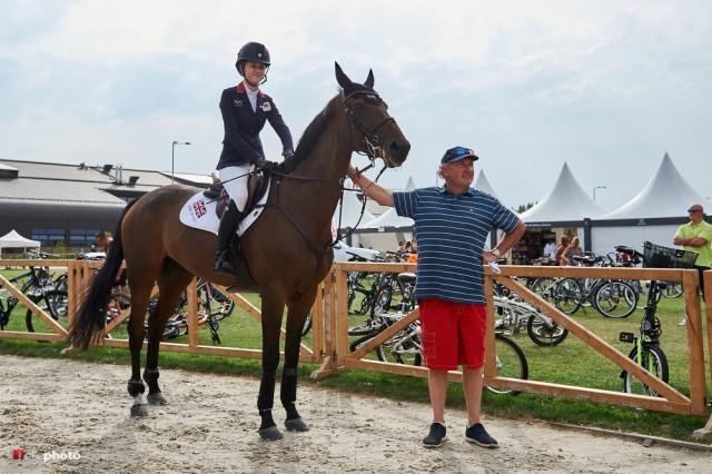 Großbritannien holte sich gestern bei den Young Ridern den zweiten Team-Meistertitel. © 1clicphoto - Hervé Bonnaud