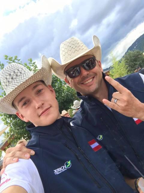 Clemens Hefel geht mit Rio Juice ins Finale der Young Rider, Martin Mühlstätter qualifzierte sich mit Start A Revolution in der 2. Go Round der Senioren. © Clemens Hefel