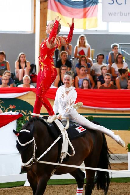 Viktoria Feldhofer & Anna Krippl vom CRG Styria (ST) holten bei ihrer ersten WM auf Anhieb GOLD. © Andrea Fuchshumer