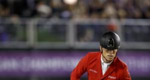 Sensationell gelang Max Kühner auf Chardonnay seine zweite Runde im Teamspringen bei den Europameisterschaften in Göteborg (SWE). © Stefan Lafrentz