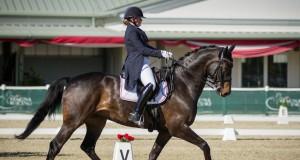 Chiara Pengg und Auheim`s Feliciano vertreten Österreich bei der FEI EM Dressur Junioren in Roosendaal (NED). © Horse Sports Photo