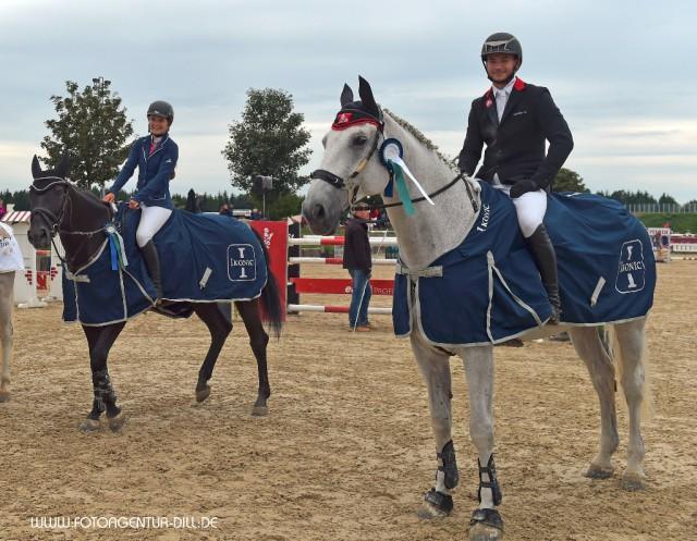 Platz zwei und drei der EY Cup Quali gingen nach Östereich: Denise Ruth und Willi Fischer sind in Topform. © Fotoagentur Dill