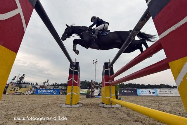 Mit Stand up 6 katapultierte sich die Oberösterreicherin Denise Ruth auf den zweiten Rang in der EY Cup Qualifikation. © Fotoagentur Dill