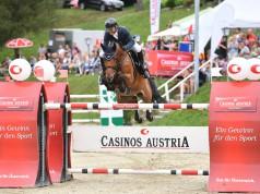 Der Casino Grand Prix powered by Westfalia Sieger von Preding 2017: Markus Saurugg. © Horse Sports Photo