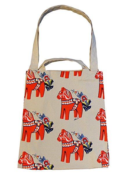 Die beige rote Tasche gibt es bei Amazonum 15,50 € plus Versandkosten. © www.amazon.de