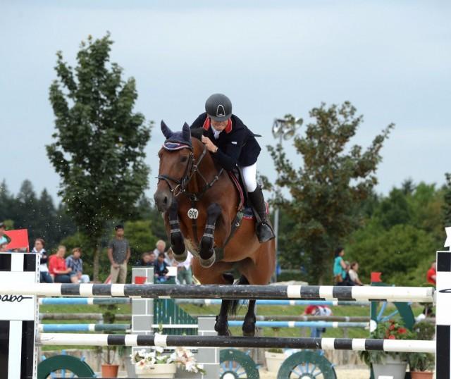 Sascha Braun und seine Top-Stute Seraphina - in Donaueschingen ist der Reiter aus bester Deutscher im EY-Cup dabei. © Ursula Puschak