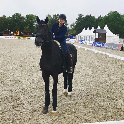 Jessica von Bredow-Werndl wird mit unee BB und Dalera BB in Donaueschingen an den Start gehen. © Facebook Jessica von Bredow-Werndl