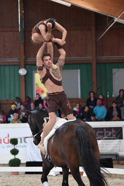 Staatsmeister im Pas de Deux 2017 wurden Stefan Csandl und Theresa Thiel. © Horse Sports Photo