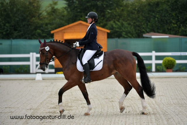 Nicole Dragoi und La Coleur in der Children Tour vom CDI Lamprechtshausen. © Fotoagentur Dill