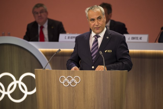 Ingmar de Vos wurde nun offiziell in den IOC berufen. © Greg Martin/IOC