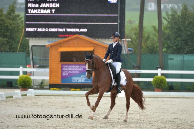 Platz drei belegten Nina Jansen und Tanzbar T. © Fotoagentur Dill