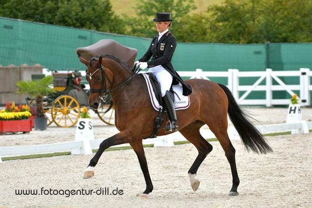 Ebenfalls top für Deutschland: Victoria Michalke und Novia 6.© Fotoagentur Dill