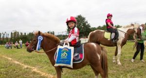 Früh übt sich wer ein Mounted Games Reiter werden will! © Florian Holzapfel