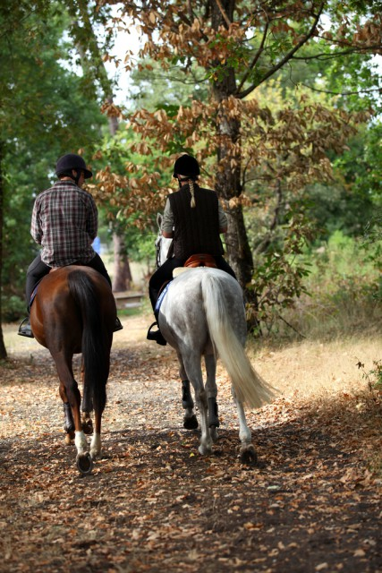 """Maintain a baseline fitness with varied work like trail riding"" © Shutterstock 