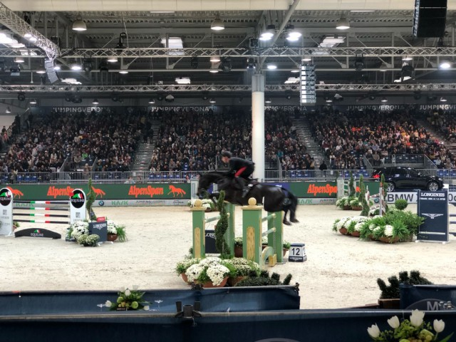 Alpenspan at the World Cup in Verona. © Private